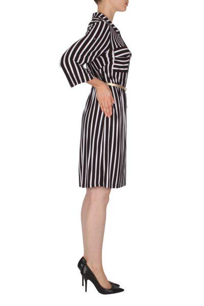 Joseph Ribkoff  Black/White Dress Style 182926