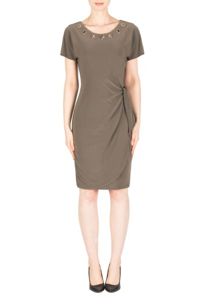 Joseph Ribkoff Avocado Dress Style 183000