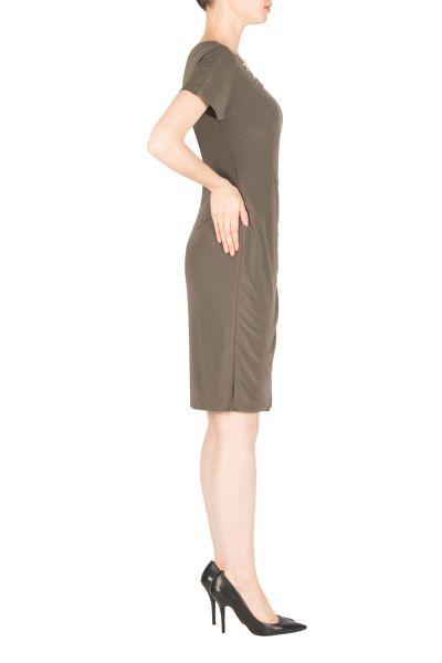 Joseph Ribkoff Avocado Dress Style 183000