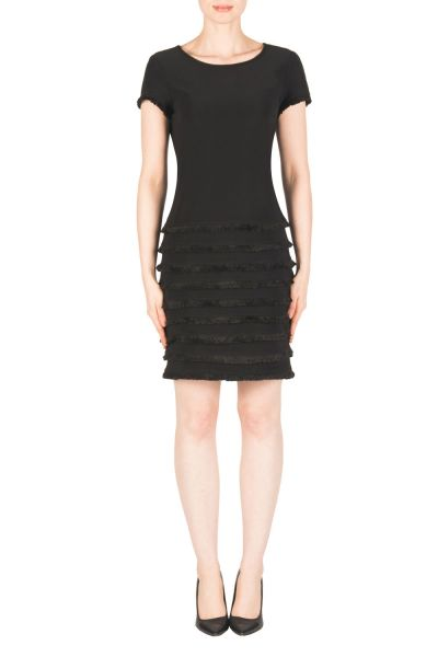 Joseph Ribkoff Black Dress Style 183001