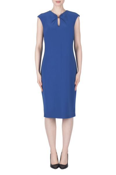 Joseph Ribkoff Royal Sapphire Dress Style 183004