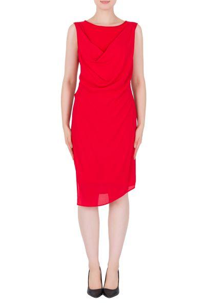 Joseph Ribkoff Lipstick Red Dress Style 183005
