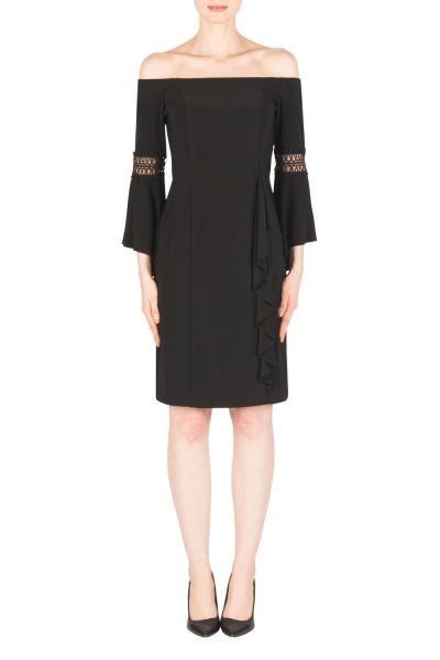 Joseph Ribkoff Black Dress Style 183011
