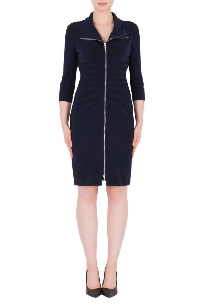Joseph Ribkoff Midnight Blue Dress Style 183015