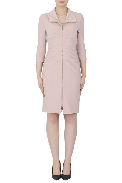 Joseph Ribkoff Winter Blush Dress Style 183015