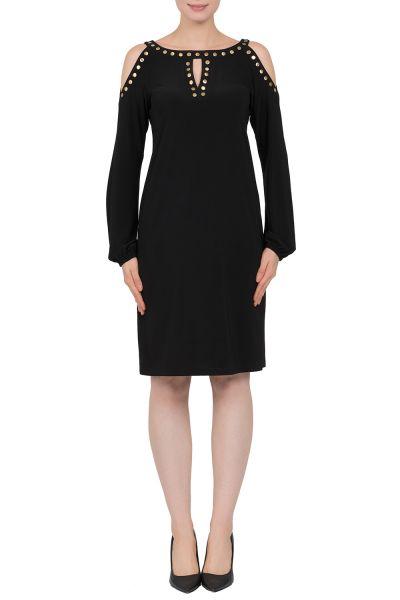 Joseph Ribkoff Black Dress Style 183036