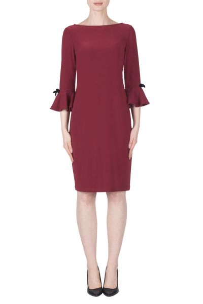 Joseph Ribkoff Cranberry Dress Style 183039