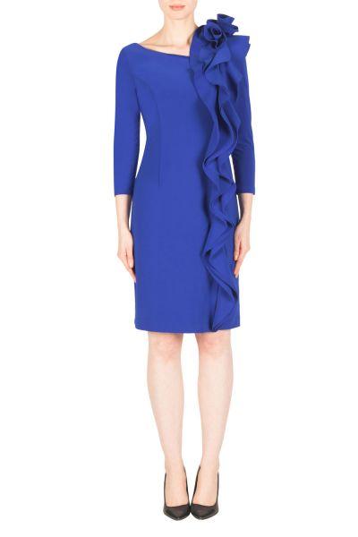 Joseph Ribkoff Royal Sapphire Dress Style 183049