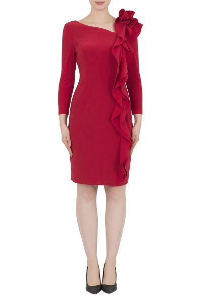 Joseph Ribkoff Red  Dress Style 183049