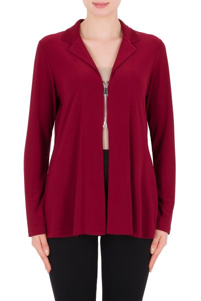 Joseph Ribkoff Cranberry Cover Up Style 183130