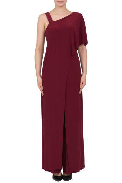 Joseph Ribkoff Cranberry Jumpsuit Style 183145