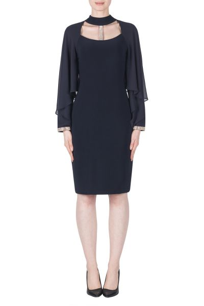 Joseph Ribkoff Black Dress Style 183245