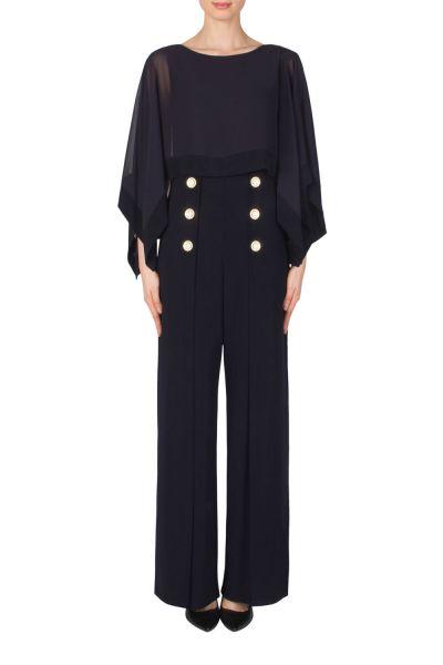 Joseph Ribkoff Midnight Blue Jumpsuit Style 183246