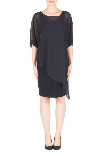 Joseph Ribkoff Midnight Blue Dress Style 183248
