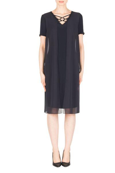 Joseph Ribkoff Midnight Blue Dress Style 183250