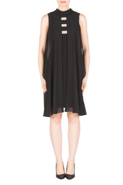 Joseph Ribkoff Black Dress Style 183252