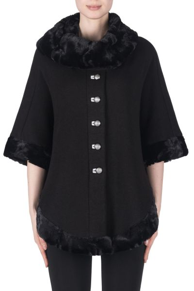 Joseph Ribkoff Black/Light Grey Jacket Style 183329