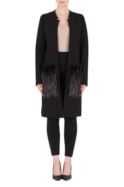 Joseph Ribkoff Black Coat Style 183333