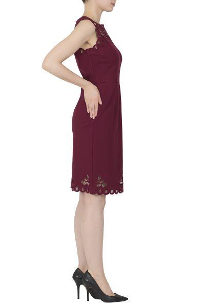 Joseph Ribkoff Cranberry Dress Style 183339