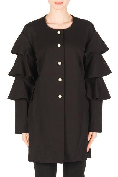Joseph Ribkoff Black Coat Style 183345