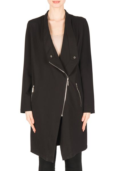 Joseph Ribkoff black Coat Style 183353