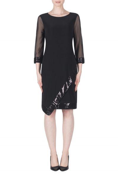 Joseph Ribkoff Black Dress Style 183380