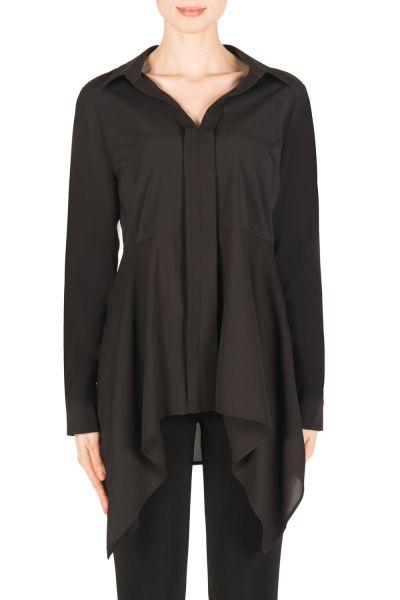 Joseph Ribkoff Black Blouse Style 183424