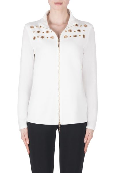 Joseph Ribkoff Ivory Jacket Style 183431