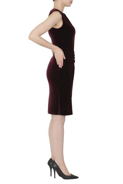 Joseph Ribkoff Bordeaux Dress Style 183457