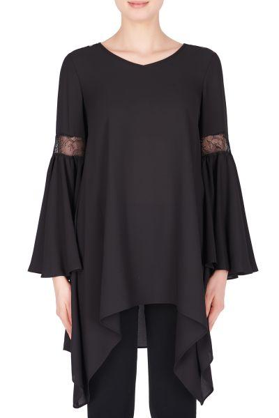 Joseph Ribkoff Black Tunic Style 183495