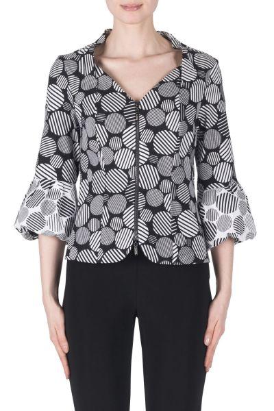 Joseph Ribkoff Black/White Jacket Style 183524