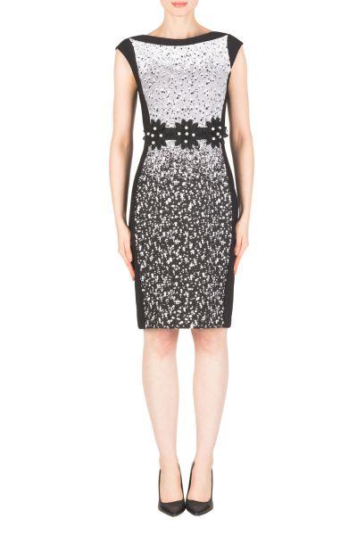 Joseph Ribkoff Black/White Dress Style 183543