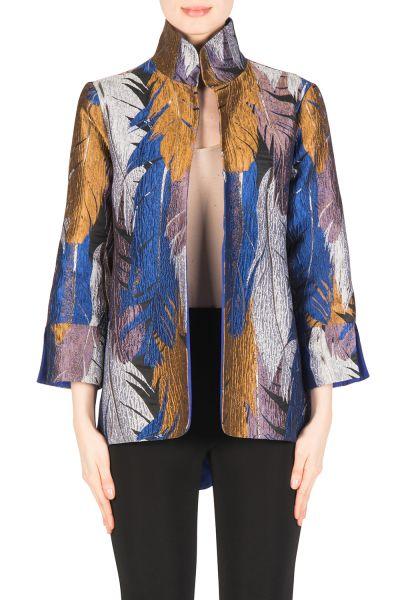 Joseph Ribkoff Blue/Multi Jacket Style 183595
