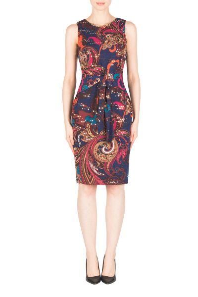 Joseph Ribkoff Navy/Multi Dress Style 183619