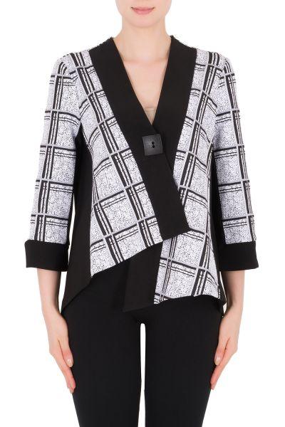 Joseph Ribkoff Black/White Jacket Style 183656
