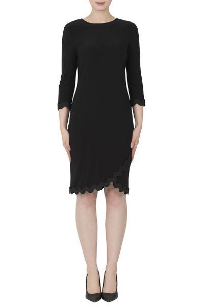 Joseph Ribkoff Black Dress Style 184011