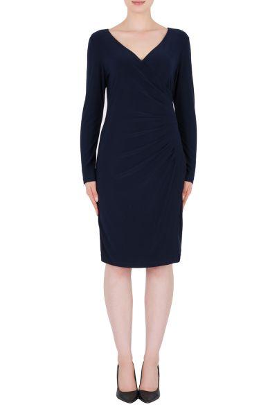 Joseph Ribkoff Midnight Blue Dress Style 184014