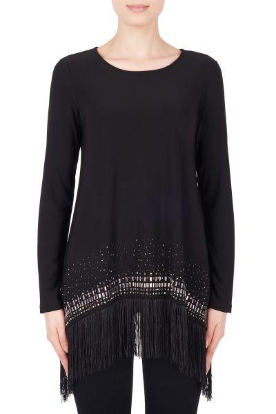 Joseph Ribkoff Black Tunic Style 184074
