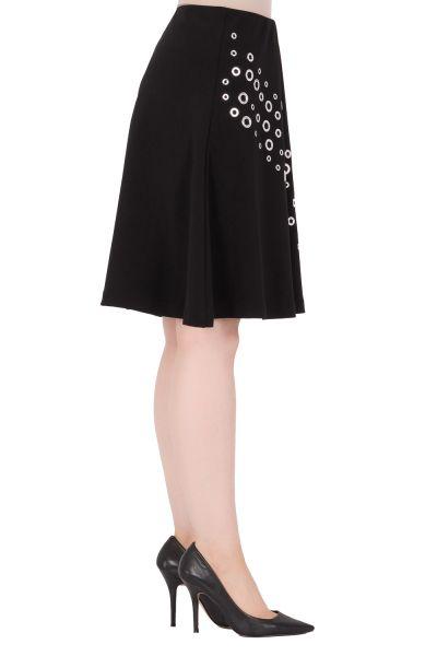 Joseph Ribkoff  Black Skirt Style 184090