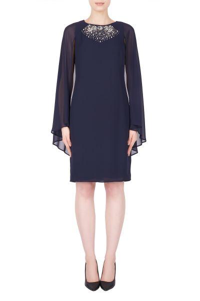 Joseph Ribkoff Midnight Blue Dress Style 184200
