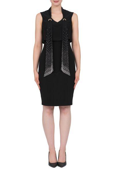 Joseph Ribkoff black Dress Style 184201