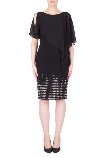 Joseph Ribkoff Black Dress Style 184202