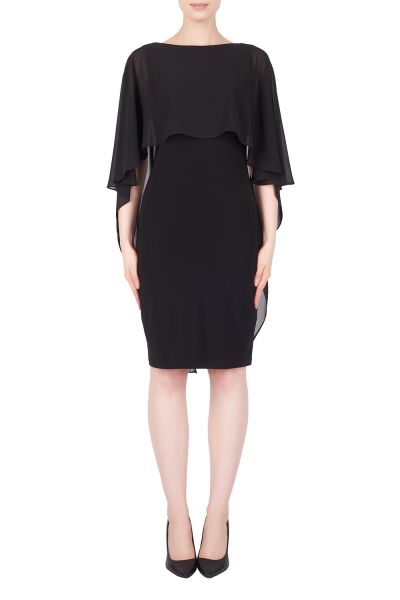 Joseph Ribkoff Black Dress Style 184203