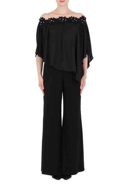 Joseph Ribkoff Black Jumpsuit Style 184234