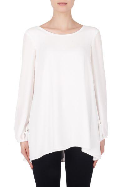 Joseph Ribkoff Off-White/Black Tunic Style 184246