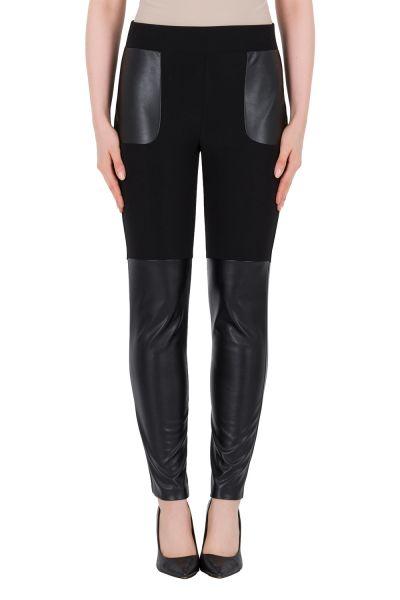 Joseph Ribkoff Black/Black Pant Style 184400