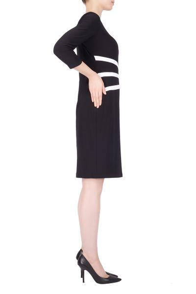 Joseph Ribkoff Black/Off-White Dress Style 184471