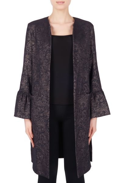 Joseph Ribkoff Black/Taupe Cover Up Style 184777