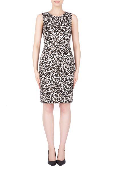 Joseph Ribkoff Black/Taupe Dress Style 184784