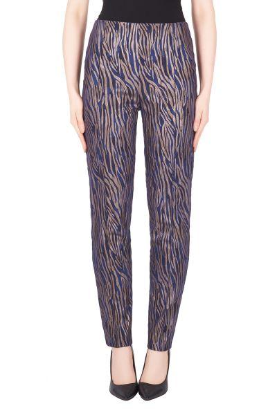 Joseph Ribkoff Navy/Copper Pant Style 184792